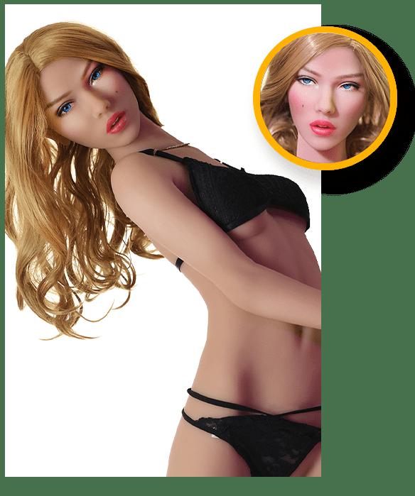 Sex-Doll-zierlicher-kleiner-Apfelpo-engelsgleiches-Gesicht