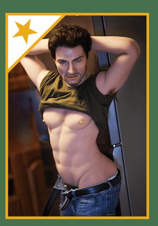 Männliche-Sexpuppe Star-Isaac