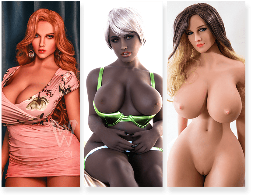Weibliche und Kurvige Sex Doll große Auswahl