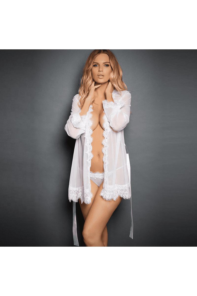 Heißer Kimono - Weiß-01