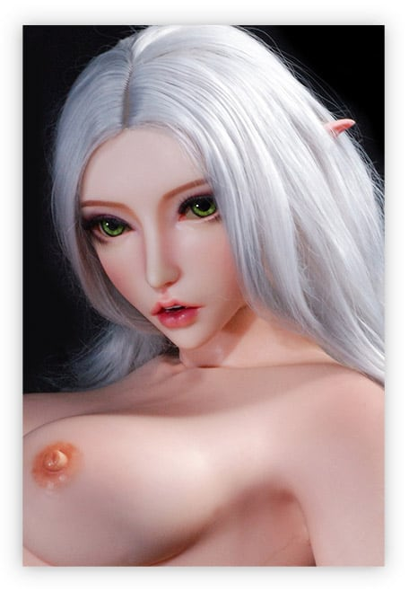 Fantasy Sexpuppe auffällige Augen
