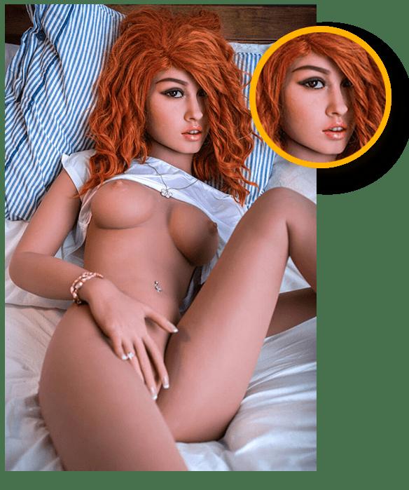 Rothaarige-Sexpuppe-Details