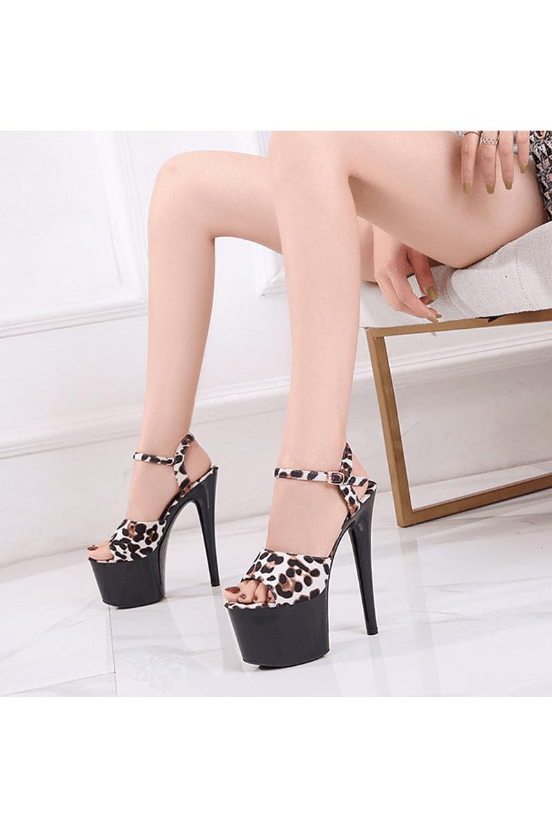 Erotische High Heels mit Leopardenmuster-01