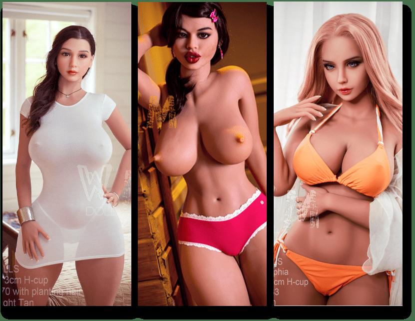 Real-Doll-mit-riesigen-Brüsten-Große Auswahl