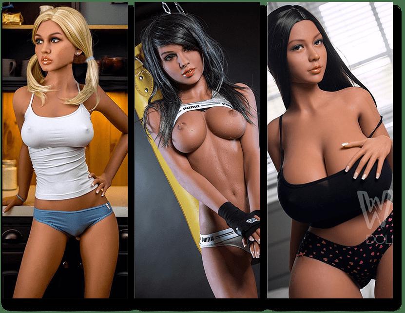 WM-Doll-Körper-Auswahl