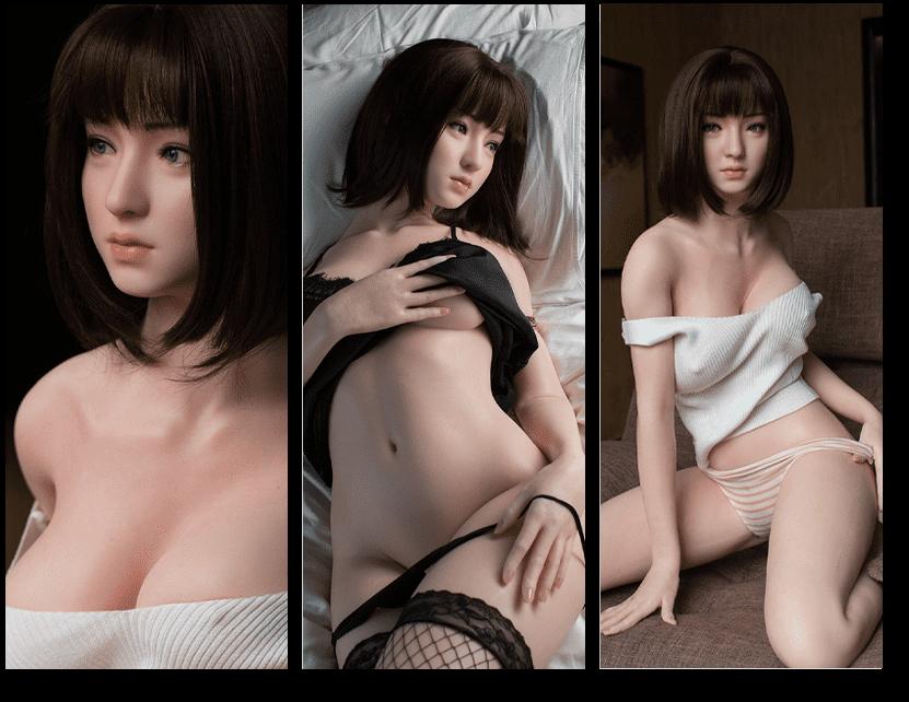 GYNOID Doll Kopf Yui Shinohara
