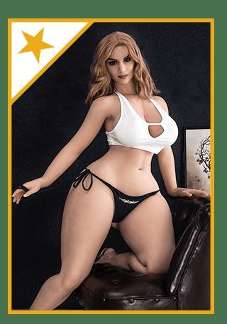Sexpuppe mit sehr großem Po Star Lillian